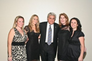 DMA2010's Katie Cunningham with Jay Leno