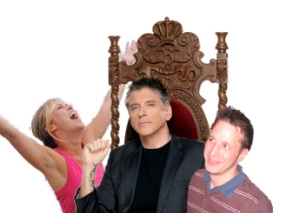An Artist's Impression of DMA2010's K-squared with ECHO host Craig Ferguson